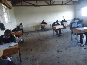 PA-MOJA Grade 12 Sponsored Students Sit for the Kenya Certificate of Secondary Education Exam.